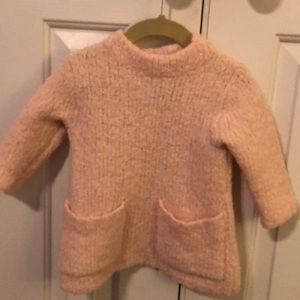 Pale pink Crewcuts sweater